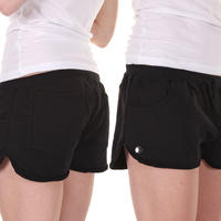 Cleptomanicx Leaves Shorts girls (black)
