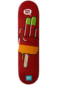 MOB Skateboards Flashfinger 7.625&quot; Deck (red)
