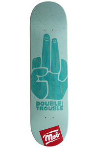 "MOB Skateboards Double Trouble 8.125"" Deck (sky)"