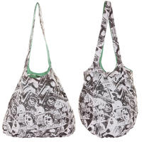 Cleptomanicx Cate Zockdollar Tasche reversible  girls (beryl green)