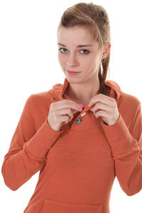 Ragwear Chelsea Hoodie girls (autumn red)