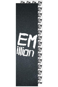 EMillion Big Logo Griptape (black white)
