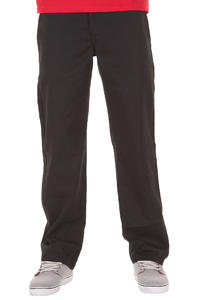 Dickies 873 Slim Straight Workpant Hose (rinsed black)