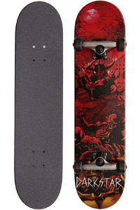 Darkstar Graveyard 7.5&quot; Complete-Board (red)