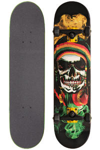 Speed Demons Rasta Skull Mob 7.75&quot; Komplettboard (rasta black)