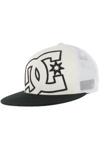 DC Daxx Trucker Cap (white black)