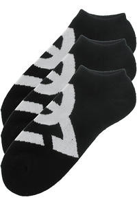 DC Suspension 2 Socks US 9-11 3er-Pack  (black)