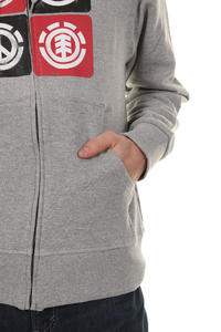 Element Tranquility Zip-Hoodie (grey heather)