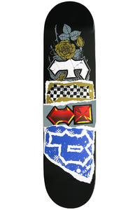 "Flip Team Patchwork 7.875"" Deck (black)"