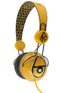 Krooked Diamond Kopfhörer (yellow black)