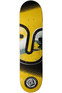 "Über Skateboards Art Class 7.625"" Deck (yellow)"
