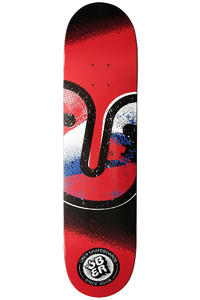 "Über Skateboards Art Class 7.75"" Deck (red)"