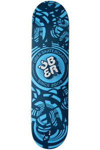 "Über Skateboards Vertigo 7.875"" Deck (blue)"