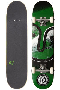 "Über Skateboards Art Class 7.5"" Komplettboard (green)"