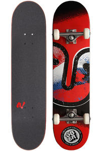 "Über Skateboards Art Class 7.75"" Komplettboard (red)"