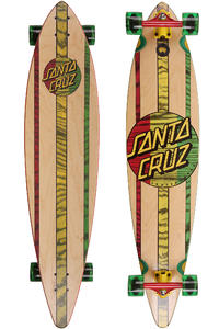 Santa Cruz Mahaka Rasta Dub 9.9&quot; x 43.5&quot; Komplett-Longboard