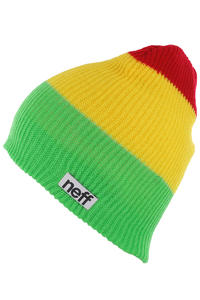 Neff Trio Beanie (rasta)