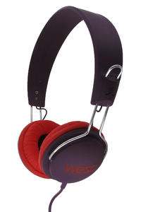 WeSC Tambourine Seasonal Headphones (red port)