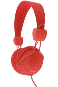 WeSC Matte Conga Headphones (hot orange)
