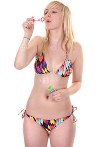 Volcom Southern Summer Bikini girls (slash stripe)