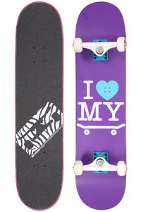 "Trap Skateboards I Love My Board 7.5"" Komplettboard (purple)"