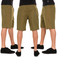 Turbokolor Shorty Shorts (olive green)