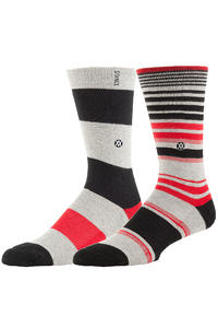 Stance Newcastle Socken US 6-13  (grey)