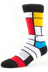 Stance Platicism Socken US 6-13  (white)