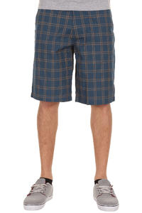 Volcom Frickin Plaid Shorts (blue moon)