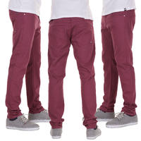 Sweet Slim Colored Jeans (beaujolais)