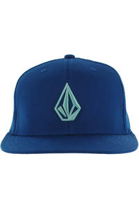 Volcom The Stone Jfit FlexFit Cap (estate blue)
