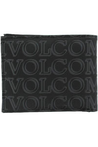 Volcom Boldface Large Geldbeutel (black on black)