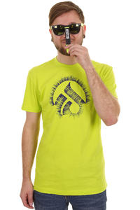 Iriedaily Laser Glyph T-Shirt (lime green)