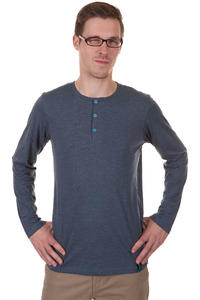Iriedaily Henley Longsleeve (navy melange)