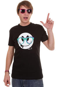 Iriedaily Spectacle Smile T-Shirt (black)