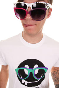 Iriedaily Spectacle Smile T-Shirt (white)