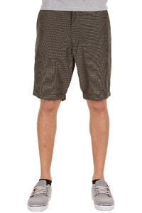 Iriedaily Golfer Plaid Shorts (chocolate)