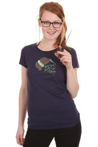 Iriedaily Kiwie T-Shirt girls (navy)
