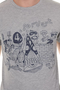Forvert Wall T-Shirt (greymottled)
