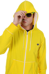 Fox Judas Zip-Hoodie (yellow)