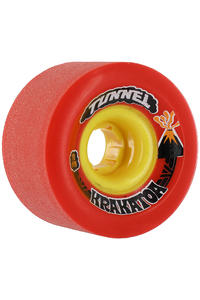 Tunnel Krakatoa 70mm 81A Rollen 4er Pack  (red)