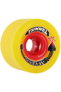 Tunnel Krakatoa 70mm 84A Rollen 4er Pack  (yellow)