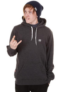 SK8DLX Easy Hoodie (dark charcoal white)