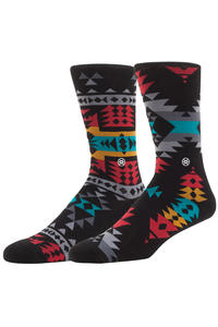 Stance Reservation Socks US 9-13  (black)