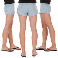 Nike TS4YL Shorts girls (light blue grey heather)