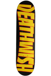 "Deathwish Thrash Death 7.75"" Deck (yellow black)"