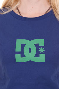 DC Worn In Crew Star T-Shirt girls (blue print)