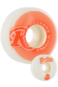 Rockers Pinstripe 54mm Rollen 4er Pack  (orange)