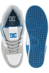DC Pure Slim Schuh (white royal grey)