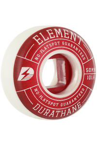 Element Impact 50mm Rollen 4er Pack  (red)
